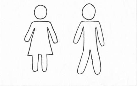 Public bathrooms are public