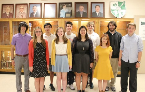 WSHS is proud to announce 12 National Merit Semi-Finalists!