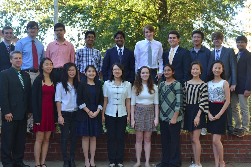 Congrats to our 18 National Merit Semi-Finalists! (Photo by Tanya Tandon)