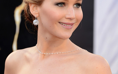 Girl on fire: Jennifer Lawrence