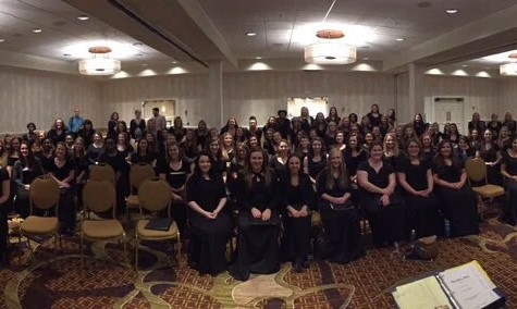 The Tennessee All-State women's choir