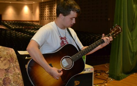 Will HIlliard (11) performs in September at the Scribbler Coffeehouse
