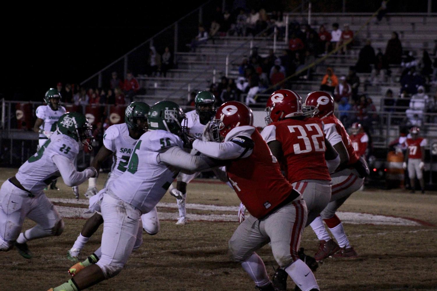 The White Station Football Team plays Germantown in an impact-heavy game.
