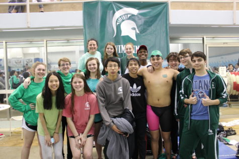 Spartan swimmers make a splash at state