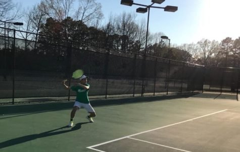 Growing tennis team aims for state