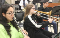 Performing arts students participate in yearly festival