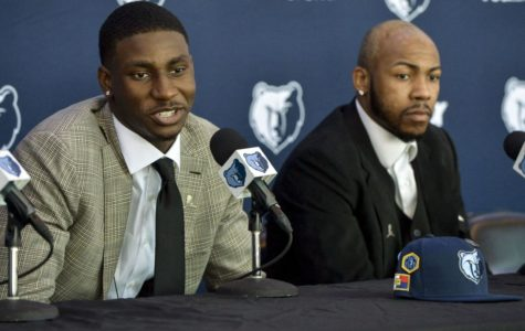 Rookies Jaren Jackson Jr. and Javon Carter speak to the press after being drafted by the Memphis Grizzlies. They were two of the signings that helped contribute to an eventful summer in Memphis sports.