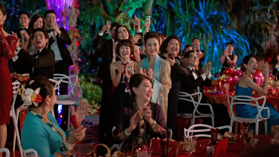 The+all-Asian+cast+of+Crazy+Rich+Asians+%28italicized%29+celebrates+a+record+box+office+turnout+after+its+premiere+on+Aug.+15.