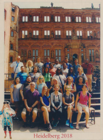 White Station choir students explore Germany