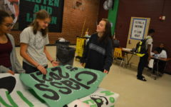 Spartans show off creativity and spirit through homecoming decorations.