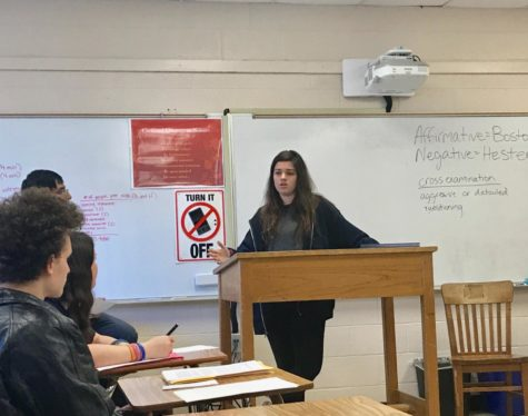 Alsobrook's students conduct a mock trial
