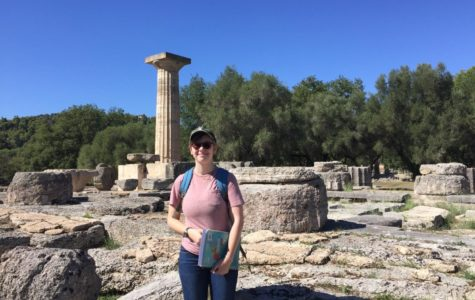 Spartan spends school year overseas in Greece