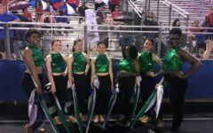Back from the past: the return of the color guard team