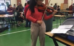 Orchestra students audition for selective West Tennessee ensemble