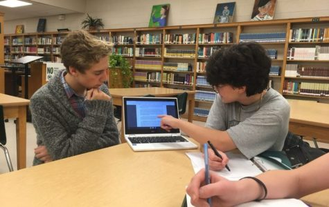 Students meet to prepare for Mock Trial competition
