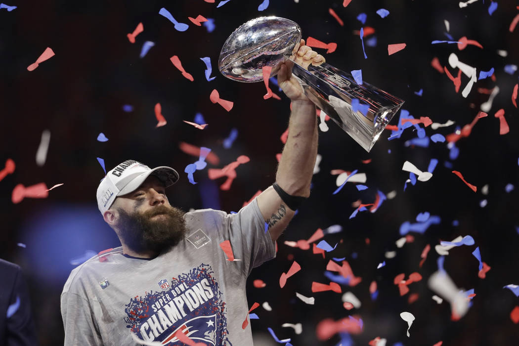 The New England Patriots won their sixth Super Bowl 13-3, over the Los Angeles Rams.