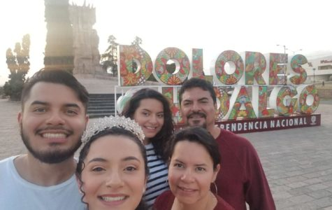 Students cross the border to spend time with family in Mexico