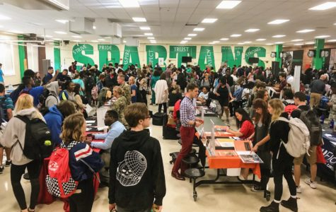 College fair displays variety of options for upperclassmen