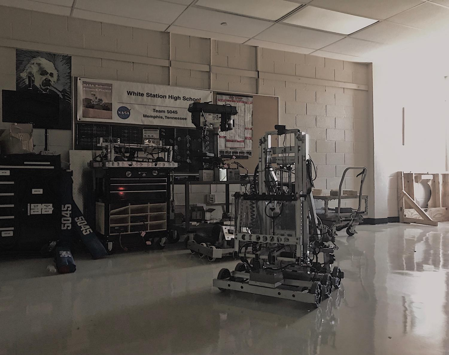 For last year's FRC, Team 5045 built a robot to the theme of