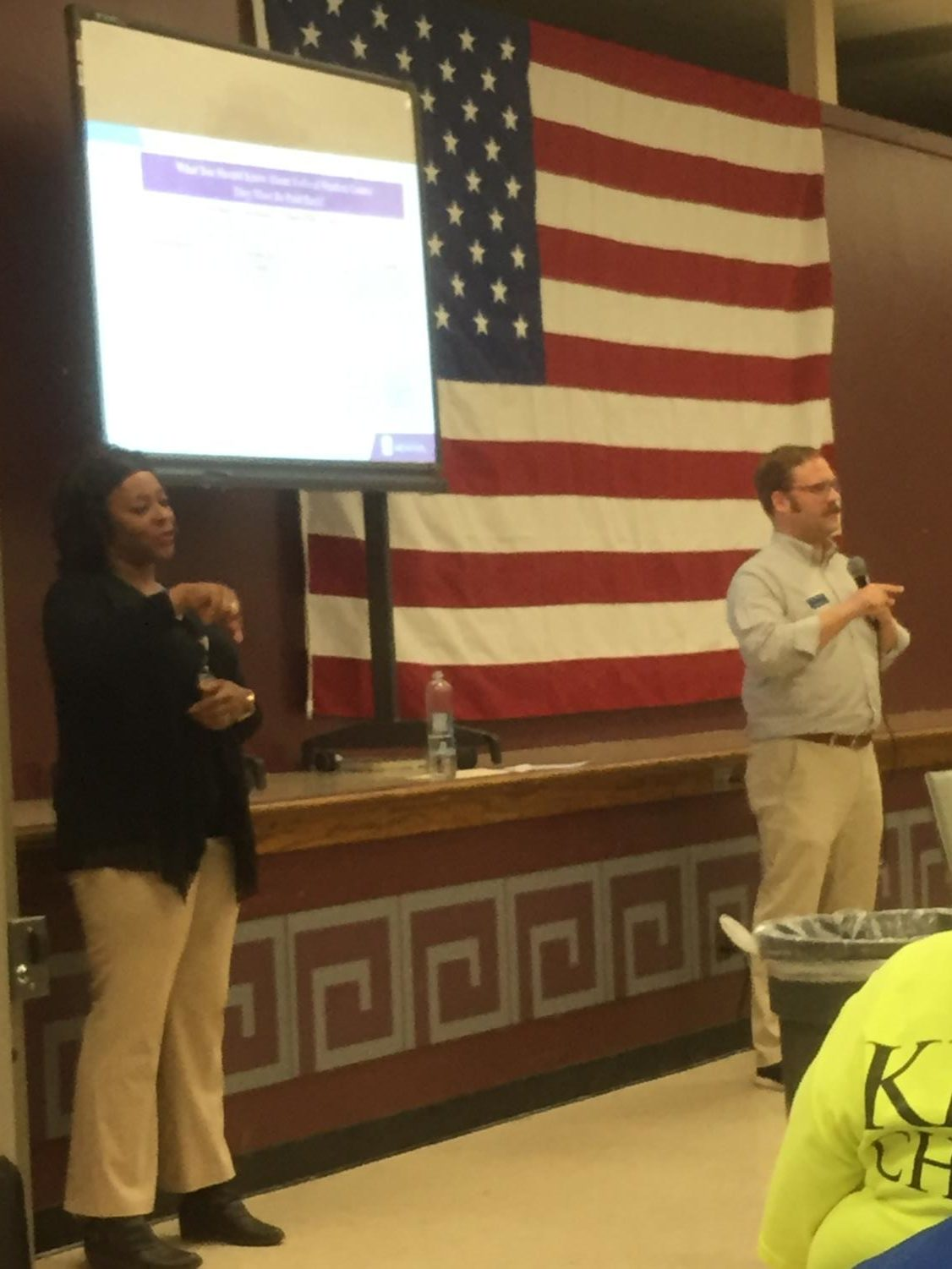 Financial Officer Matt Rhodes came to share scholarship information specifically for the University of Memphis. He then went on to explain the process of applying for FAFSA and what students should be doing to prepare for all college applications.