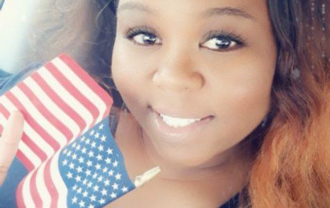 Ms. Gray obtains her U.S. citizenship