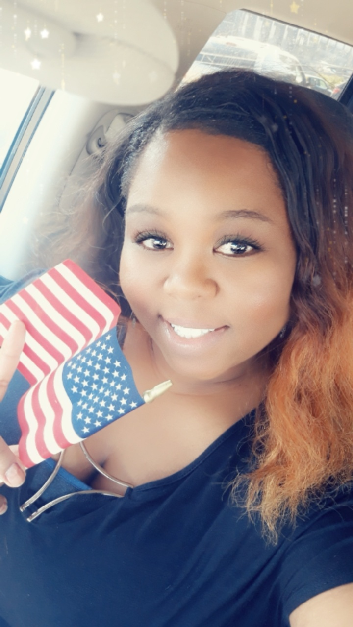 Simone Gray is granted citizenship in September of 2019 after migrating to the United States in 2003.