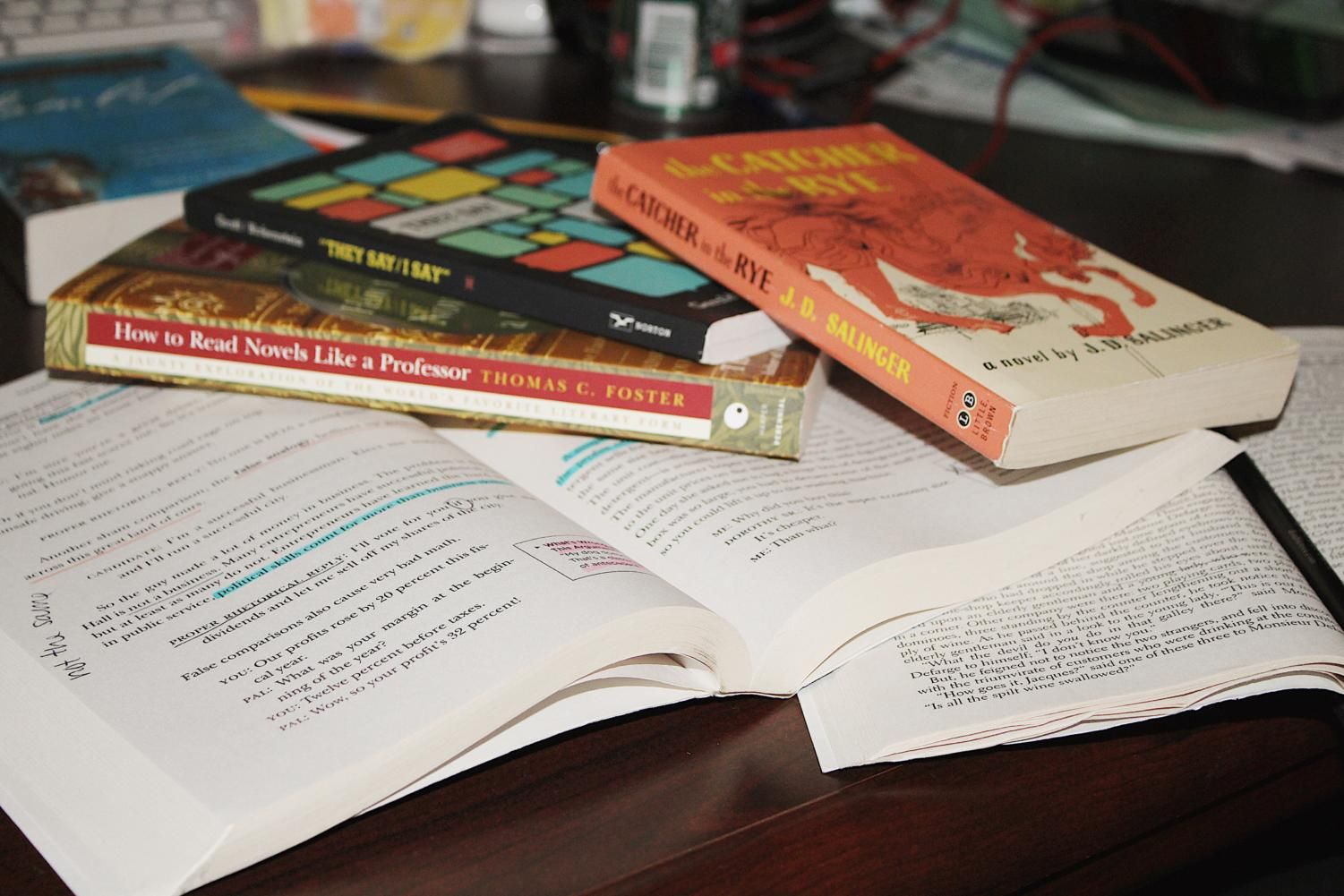 Summer work is different for each type of class; for example, English classes tend to assign books to read and analyze.