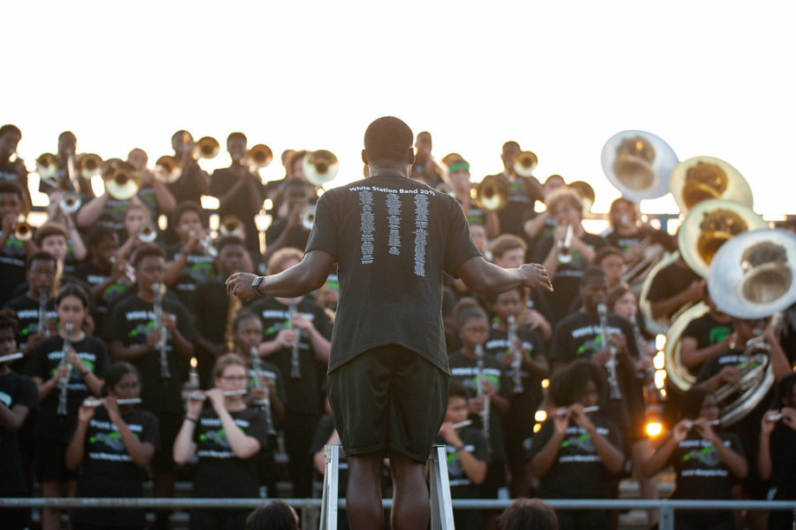It+has+been+several+years+since+the+White+Station+Marching+Band+has+participated+in+a+competition.+This+year%2C+the+band+dipped+a+toe+into+the+world+of+competitive+marching+through+the+Briarcrest+Christian+School+Marching+Band+Invitational.+