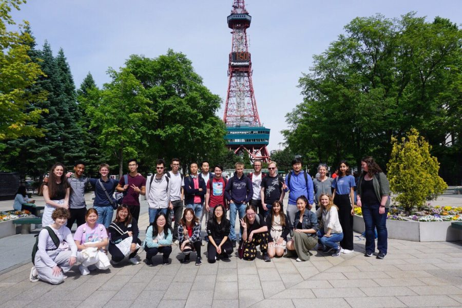 Over the course of their six-week stay, Min and Shi underwent a completely immersive language program. The trip, which the two had been planning for more than a year, encompassed both instructional time in a school setting and activities for cultural exposure in the city of Hokkaido.
