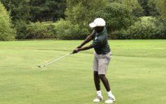 Golf team in full swing