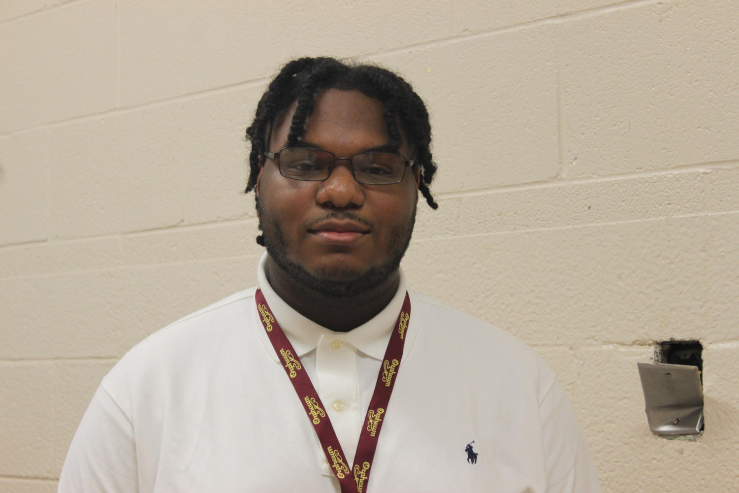 The White Station Orchstras gained a new student teacher this year, Matthew Finley. A not-so-distant graduate of Overton High School, he is earning his education degree at the University of Memphis.