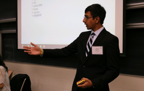 Krishna Dasari (12) discusses the Hong Kong protests. He represented Germany in the SPECPOL comittee.