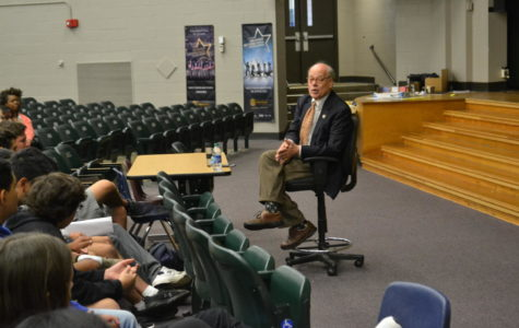 Congressman Steve Cohen holds a Question and Answer session with AP Government classes
