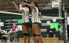 Lady Spartans beat Jaguars on senior night