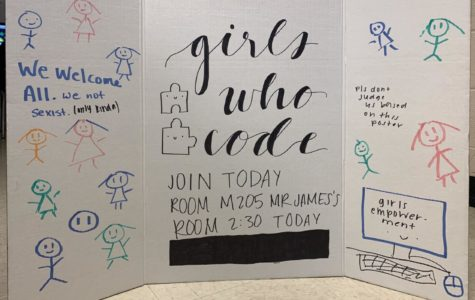The Girls Who Code club welcomes all White Station students interested in joining.