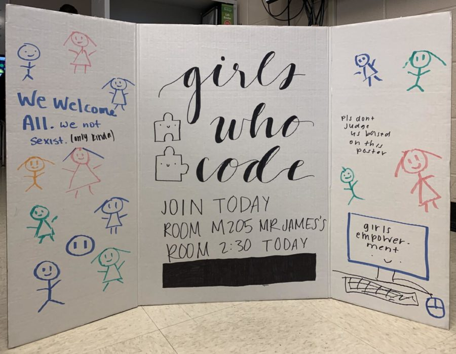The+Girls+Who+Code+club+welcomes+all+White+Station+students+interested+in+joining.