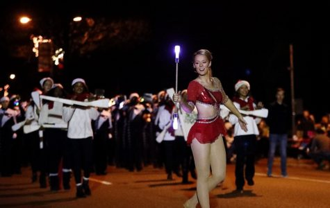 The annual Collierville Christmas Parade showcased floats, dancers, and our very own Spartan Band.  Alongside other musicians and performers, the band spread nostalgic holiday tunes throughout the streets,
