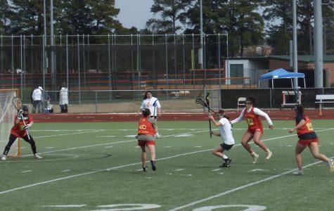 Lady Spartan lacrosse team takes on Little Rock