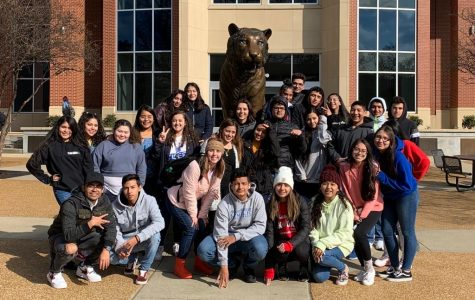 Students in the Abriendo Puertas program took a trip to the University of Memphis on February 27th, 2020. The goal of this program is to help give latino students an opportunity to explore places to go after high school.