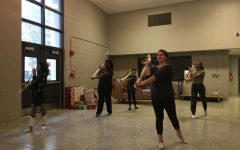 Flags and flourishes: A look into White Station's first year winter guard team