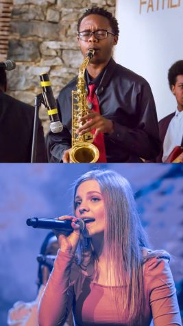 Myles Robinson, pictured above, and Karoline Larsen, pictured below, were performers for all four of their years at White Station. Both mourn their final performances as Spartans, lost due to the corona crisis.