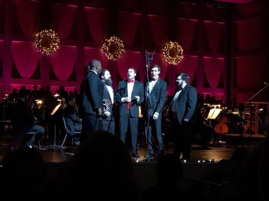 Joseph+Powell%2C+pictured+far+right%2C+sings+in+a+sextet+in+the+Memphis+Symphony+Chorus+for+the+Magic+of+Memphis+Holiday+Concert%2C+with+the+conductor+of+the+Symphony%2C+Robert+Moody%2C+singing+in+the+middle.+They+were+singing+%E2%80%9CThe+Rose%E2%80%9D+as+performed+by+Bette+Midler.