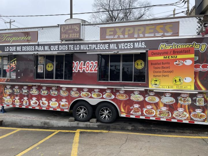 Taqueria Express #5, situated on the corner of Summer Avenue and North Perkins, provides an array of authentic Mexican dishes to satisfy cravings. With high ratings and enjoyable food, Taqueria Express is one out many notable Memphis Food Trucks attracting new customers daily.