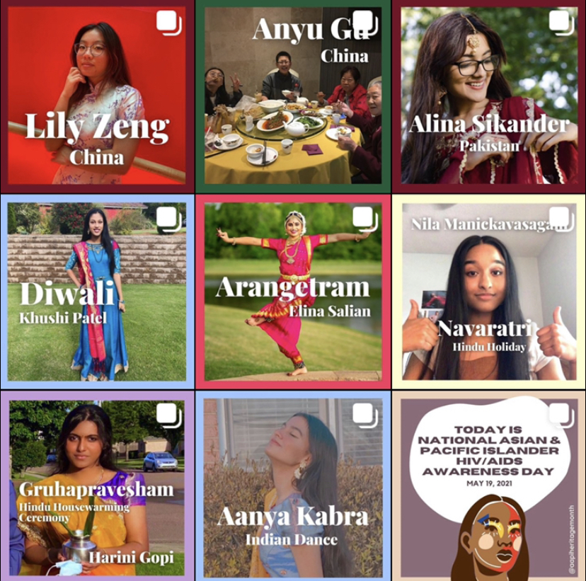 Students+submitted+photos+to+the+Asian+American+and+Pacific+Islander+%28AAPI%29+Instagram+page+%28%40aapiheritagemonth%29+to+represent+their+respective+backgrounds.+The+page+allows+AAPI+students+an+opportunity+to+share+their+culture+and+traditions+on+a+social+platform.+