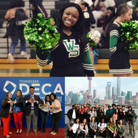 From cheering at football games to traveling across the world, Gaby Brown (12) took advantage of all the opportunities presented to her. As part of the graduating class of 2021, Brown completes her education from White Station as she attends college in Mississippi next fall.