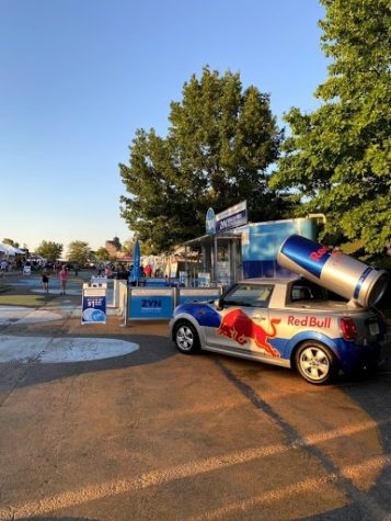 Memphis in May World Championship Barbecue Cooking Contest was held in Tom Lee Park after being canceled in 2020. Baron Hendricks attended the festival right before the sunset on the river.